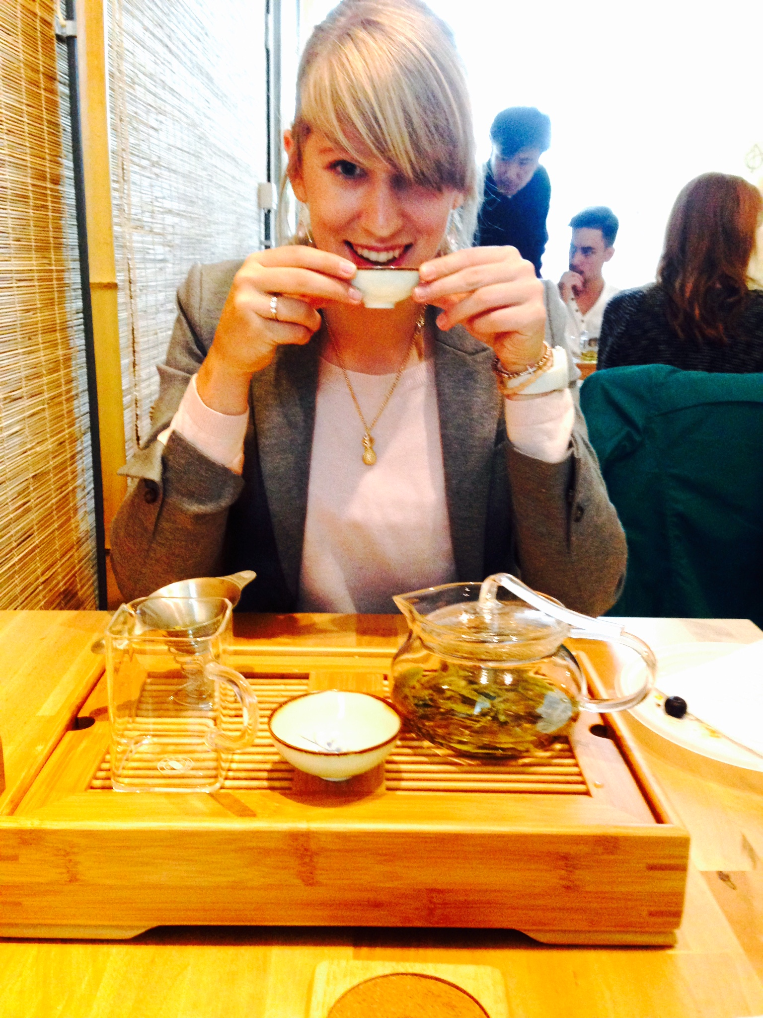chinees thee drinken theeceremonie
